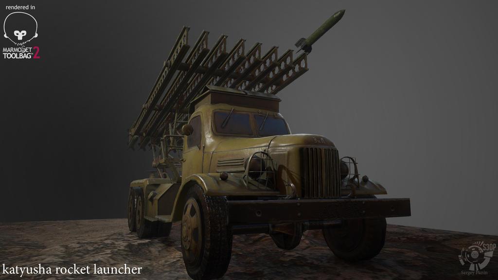 katyusha rocket launcher - Final by LeoluchGG on DeviantArt