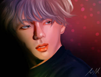 Taehyung by takewantwo