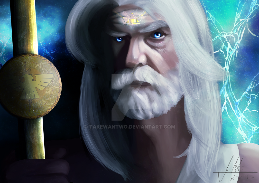 The King of Gods - Zeus by takewantwo