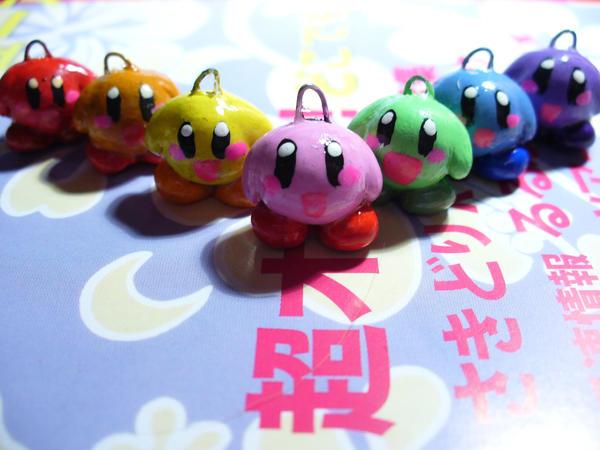 rainbow kirby by Muku-charms