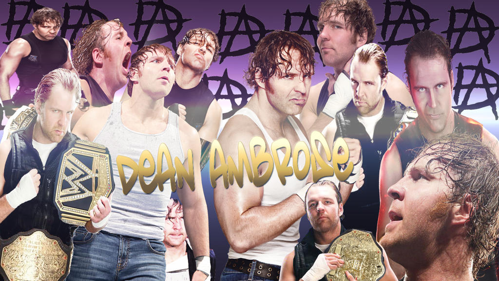 Dean Ambrose WALLPAPER By Valeen23
