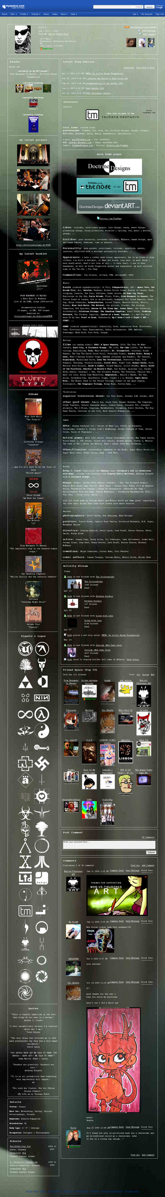 MySpace-dot-com-slash-TsuBaka by DoctrineDesigns