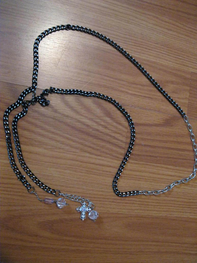 Cross Waist Chain Belt by calley14