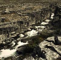 Barren stream by arvela