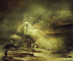 Lighthouse keeper by AmandineVanRay