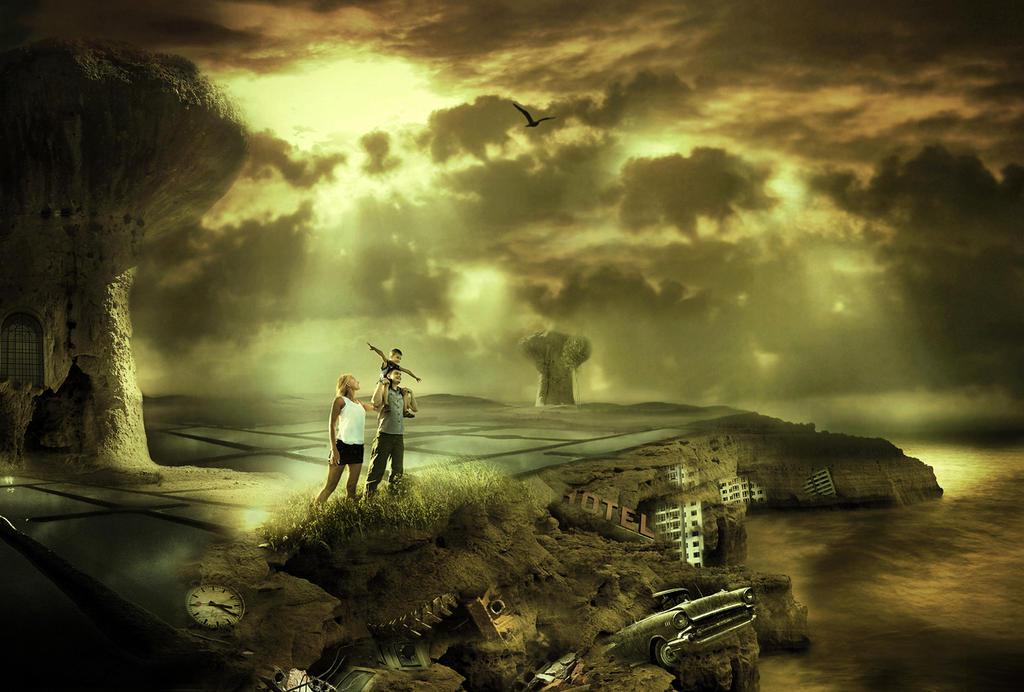 Rising of new world by AmandineVanRay