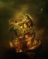Her magic shell by AmandineVanRay