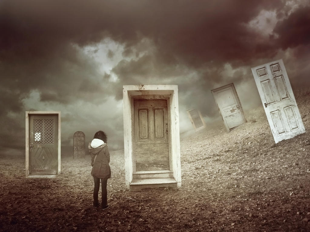 Closed Doors by AmandineVanRay