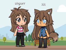 Gift/Gacha: shgurr and kit