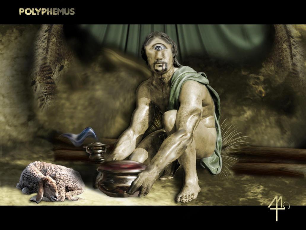 49th: Polyphemus by MaestroTomberi on DeviantArt