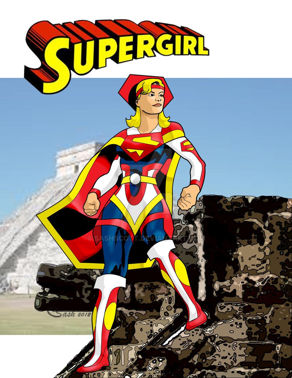 Supergirl27 by SashScott