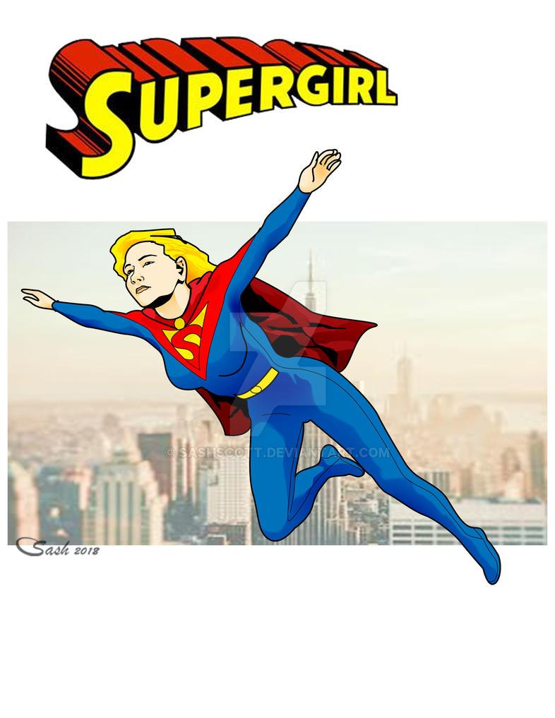 Supergirl29 by SashScott