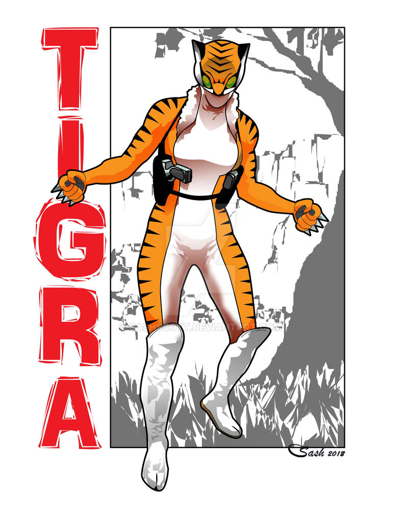 Tigra by SashScott