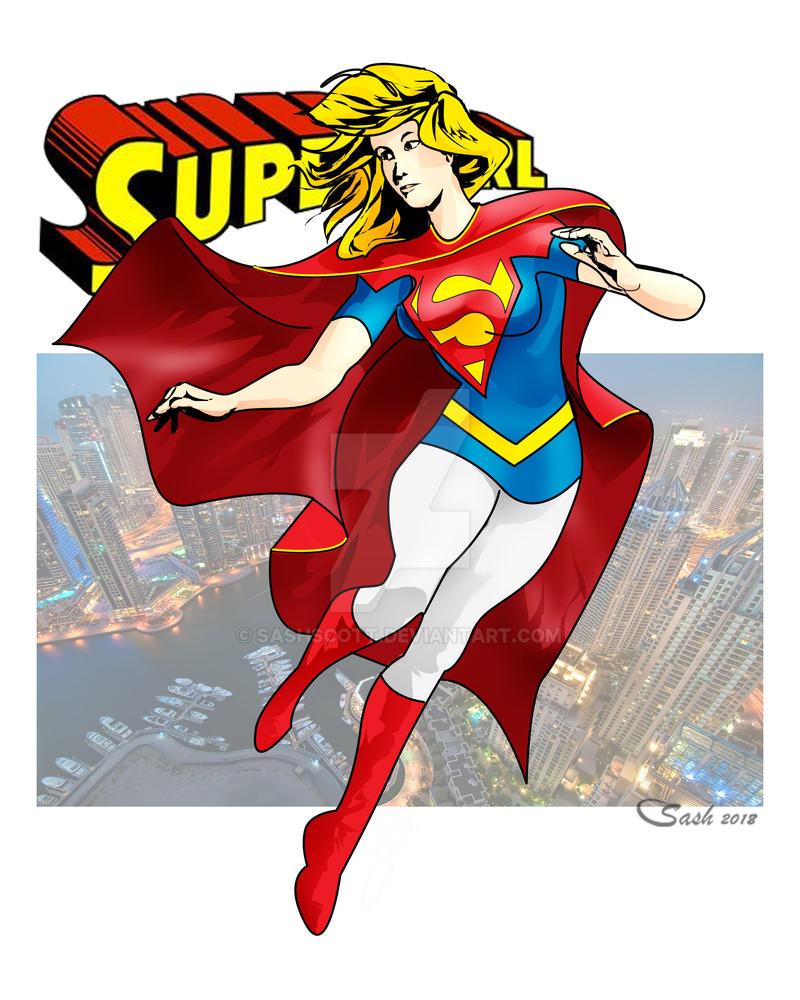 Supergirl45 by SashScott