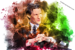 Watercolor 11th doctor