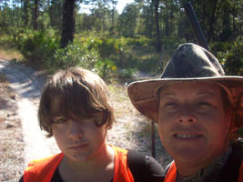 me and my mom hunting 2009 by German-princess