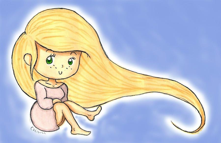 Rapunzel, Rapunzel by ChiuuChiuu