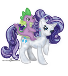 Crystal - Rarity and Spike