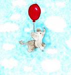 Balloon Elephant by ChiuuChiuu