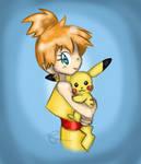 Misty and Pikachu