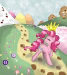 Pinkie Pie, the Queen of Candies