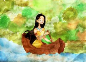 Pocahontas by ChiuuChiuu