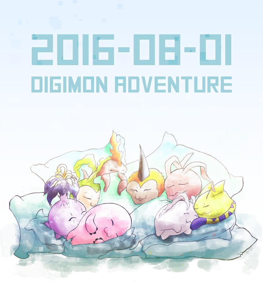 DIGIMON ADVENTURE - 2016/08/01 by Sariiix3