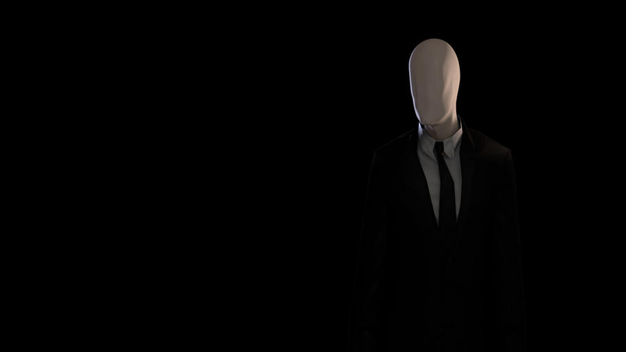 Slenderman Wallpaper by AQWmim
