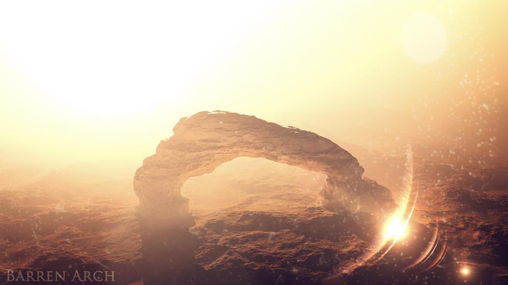 Barren Arch by AQWmim