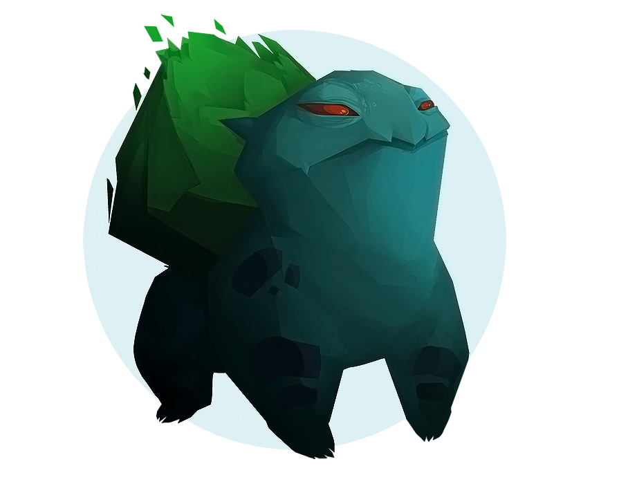 Bulbasaur by sterlingy