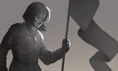 Joan of Arc by sterlingy