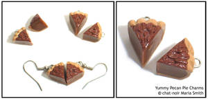 Yummy Pecan Pie Charms