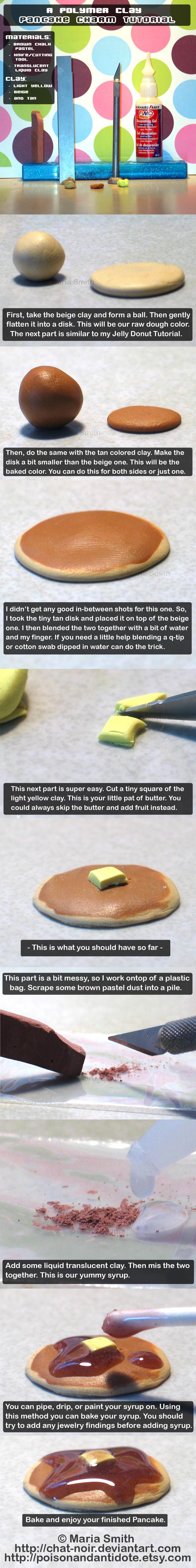 Polymer Clay Pancake Tutorial