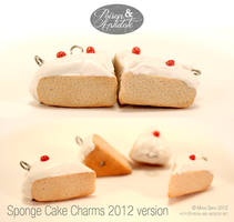 Victorian Sponge Cake Charms -revisited- by chat-noir
