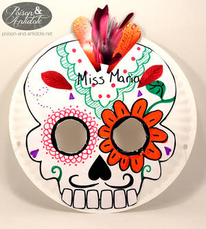 Calavera Mask Example for Daycare