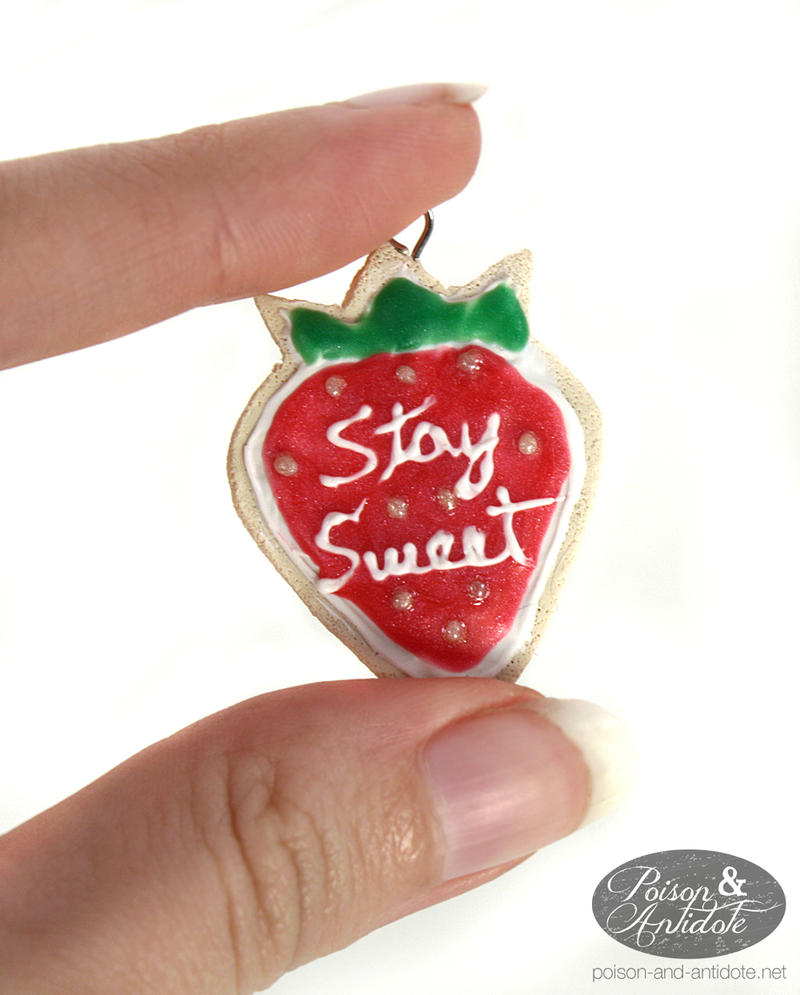 Stay Sweet - Taffyta Pendant by chat-noir