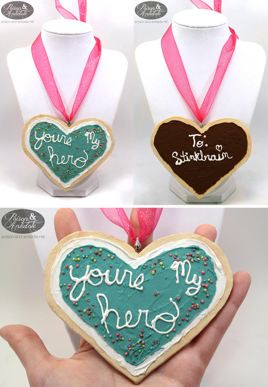 Cosplay You're My Hero Cookie Pendant by chat-noir