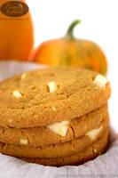 Pumpkin Cookies by chat-noir