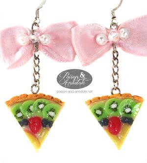 Lolita Teaparty Tart Earrings