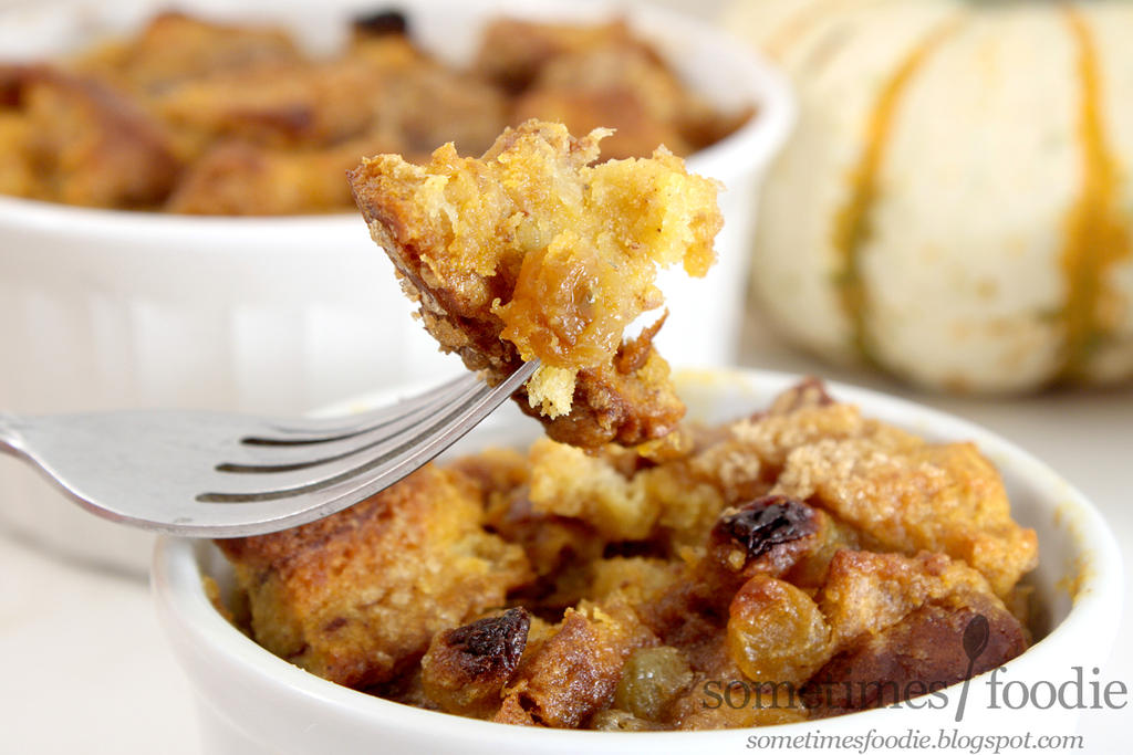 Pumpkin Spiced Bread Pudding by chat-noir