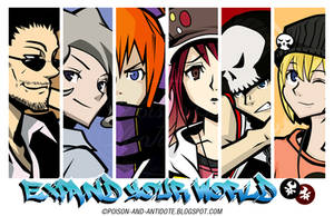 TWEWY Group Poster
