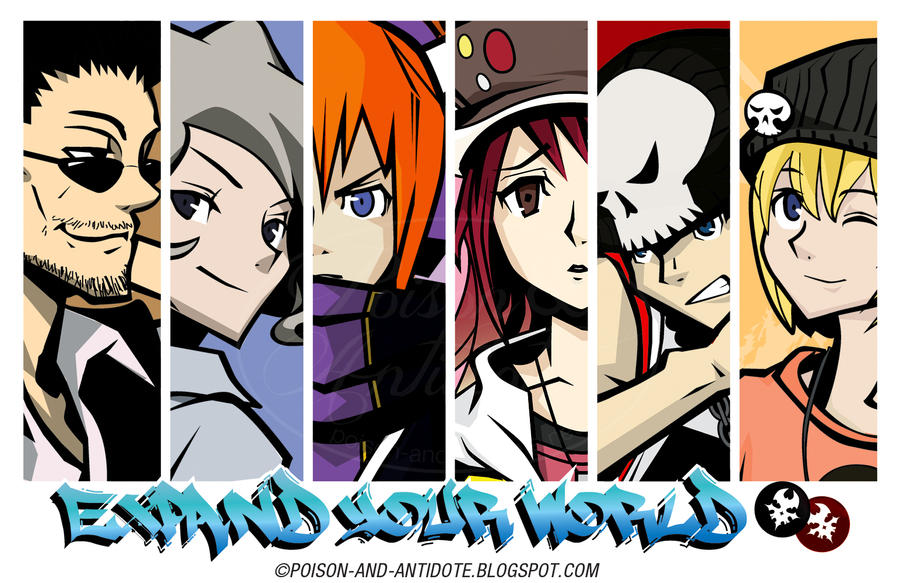 TWEWY Group Poster by chat-noir