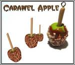 Yummy Caramel Apple Charm