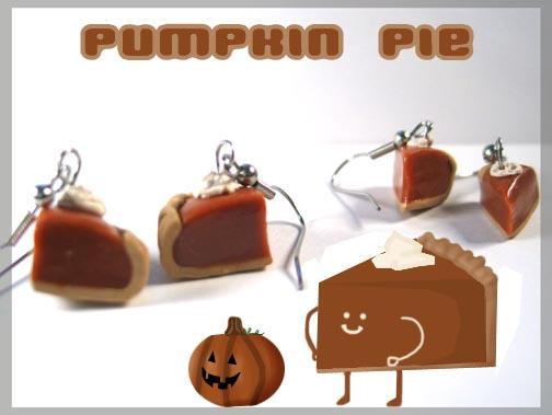 Little Pumpkin Pie Slices by chat-noir