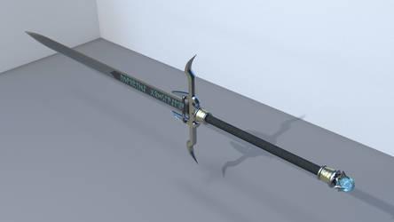 Shad Brooks' Sword, full view