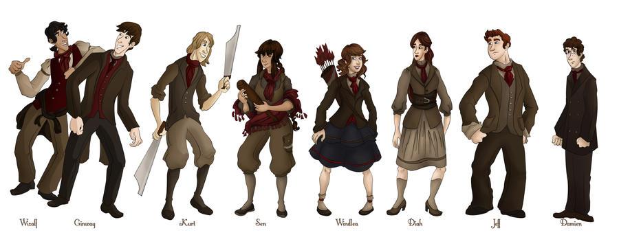 Full Lineup by CherryRiceSammich