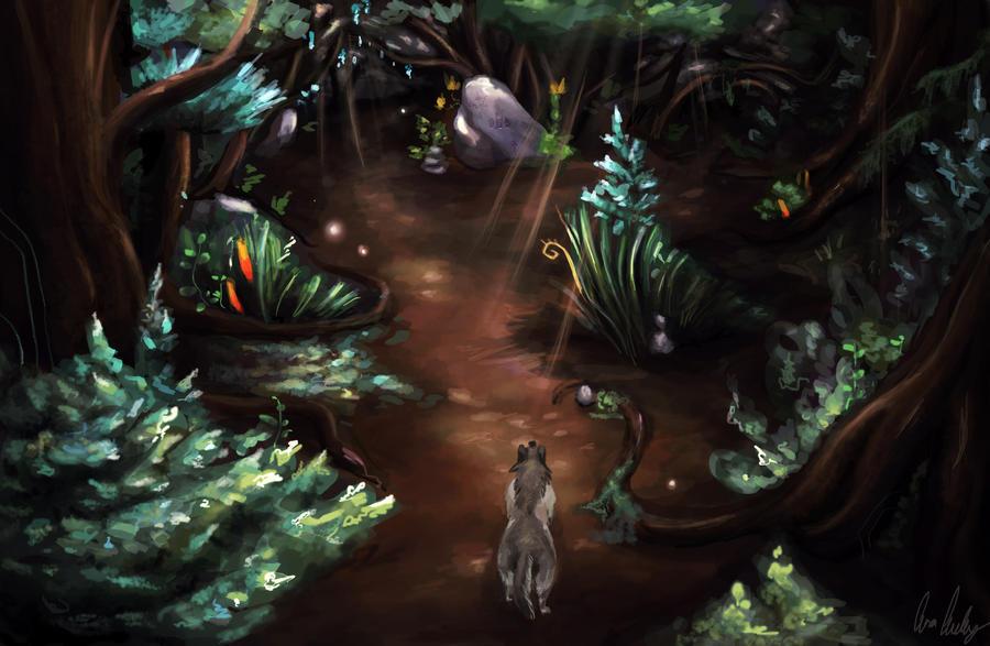 Wolfsong: Forest Floor by CherryRiceSammich