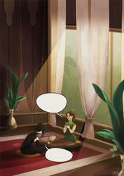 Teatime Interrogation by CherryRiceSammich