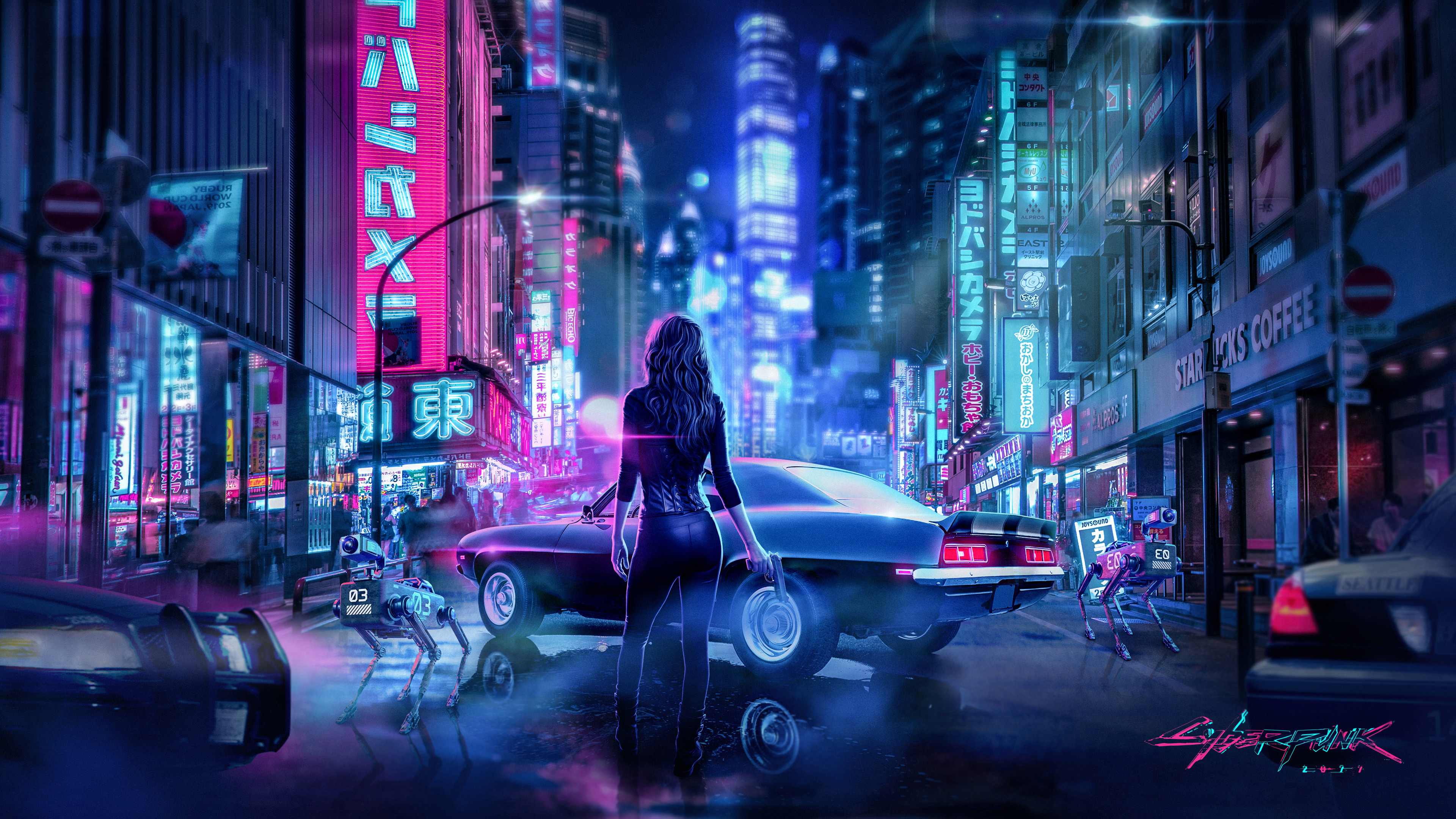 Cyberpunk2077 Wallpaper 4k 3840x2160 By Jivostudio On Deviantart