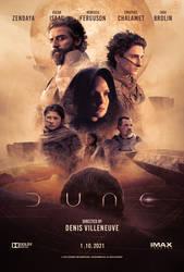 Dune 2021 Movie Poster
